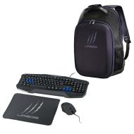 Геймърски комплект клавиатура с мишка и пад Hama uRage Starter + раница uRage CyberBag