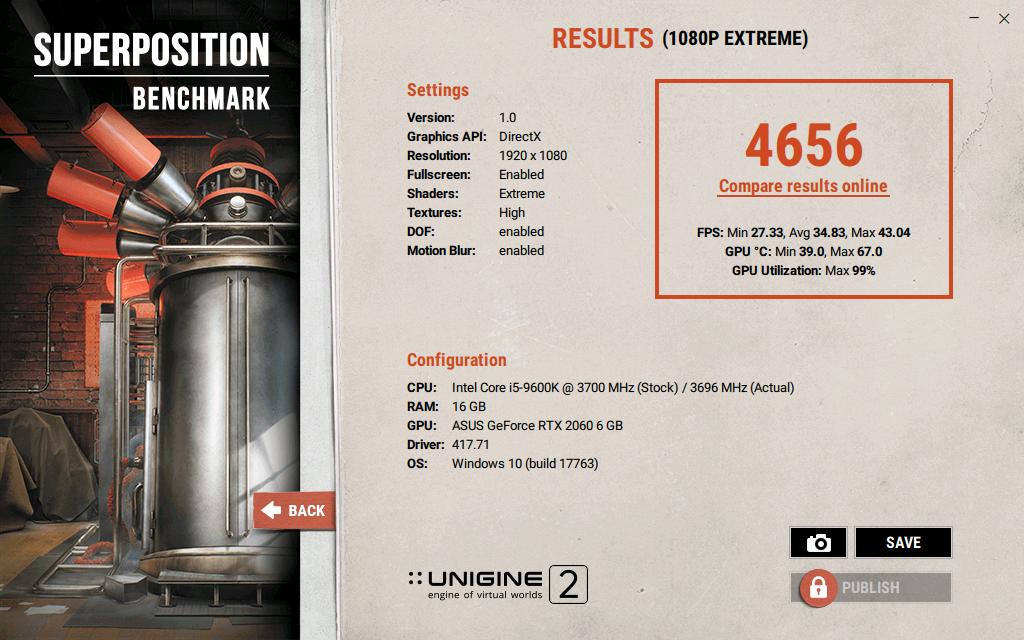 Тестване на RTX 2060 заедно с процесор Core i5 9600K