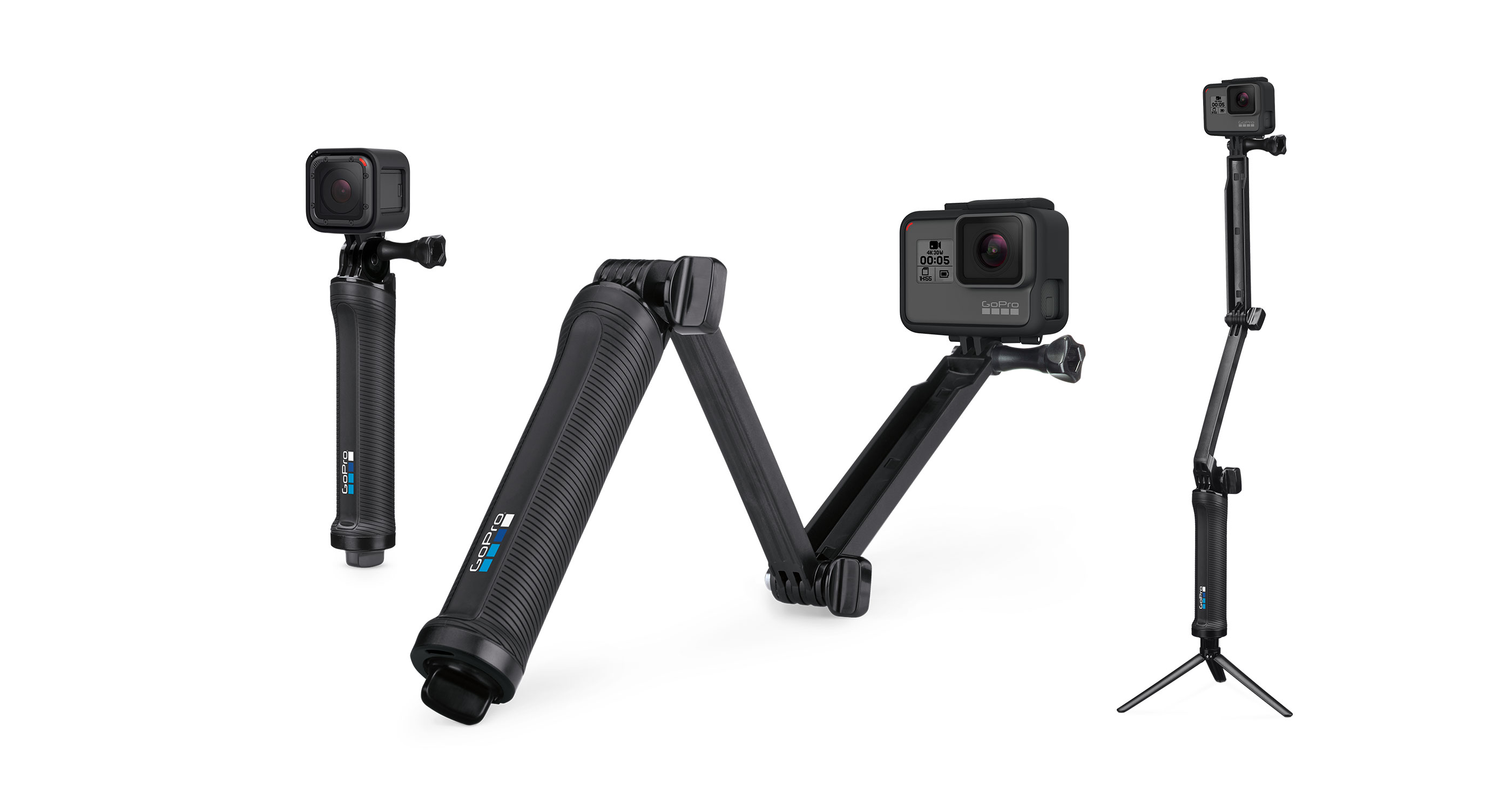 GoPro пръчка 3 WAY GRIP AFAEM-001