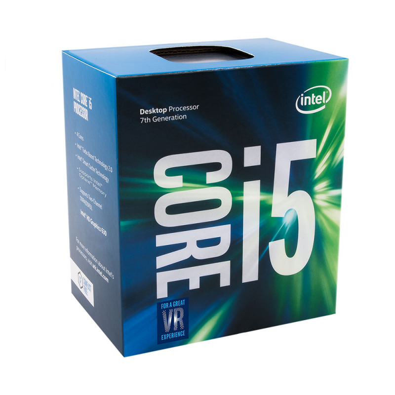 Процесор Intel Core i5-7400 (6 MB Cache, 3.00 GHz) LGA1151 Kaby Lake