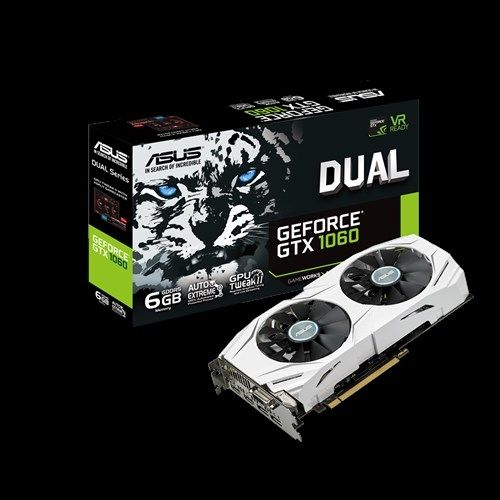 Видео карта Asus Dual GeForce GTX 1060 6GB