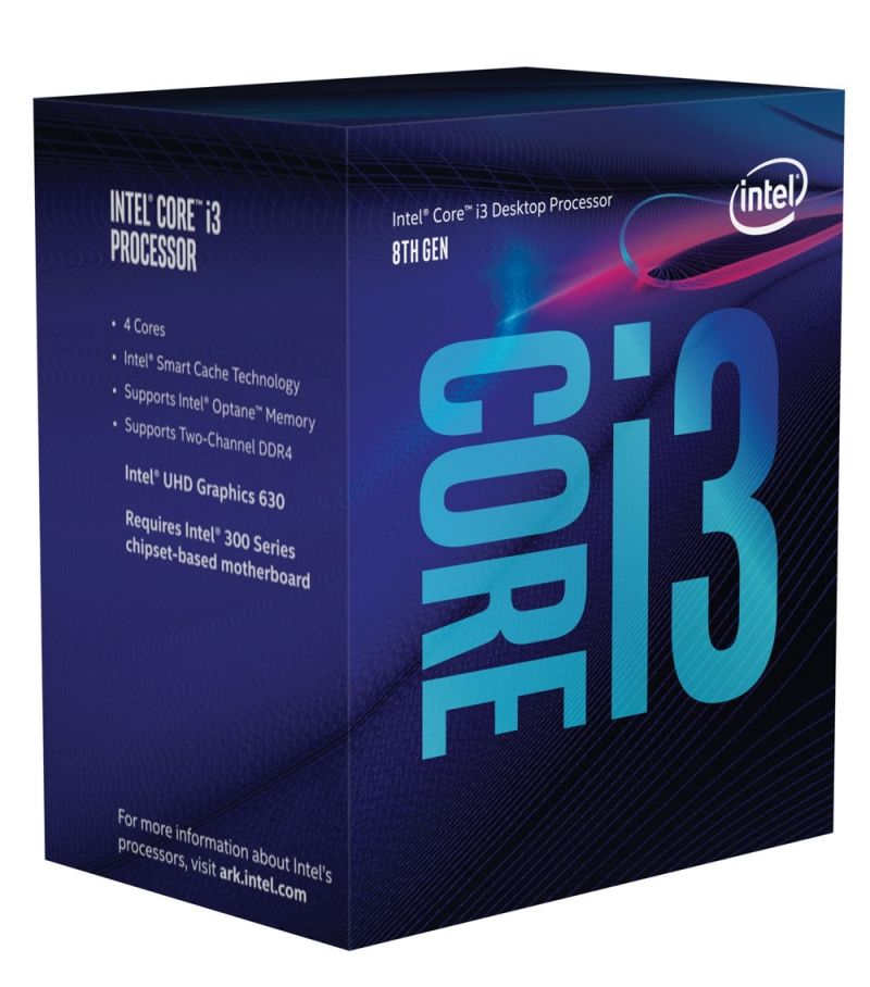 Intel Core i3-8100 Coffee Lake, сокет LGA1151