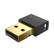 Bluetooth адаптер Orico Bluetooth 5.0 USB, black - BTA-508-BK