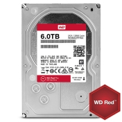 HDD 6TB SATAIII WD Red PRO 7200rpm 128MB for NAS and Servers (5 years warranty)