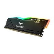 Памет Team Group Elite DELTA RGB DDR4, 8GB, 2400 mhz, CL15-15-15-35, 1.2V, Черен