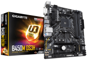 Дънна платка Gigabyte B450M DS3H Socket AM4, 4 x DDR4, rev. 1.0