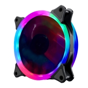 Вентилатор Makki Fan 120mm RGB 2 rings, 6 pin