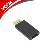 Адаптер VCom Adapter DisplayPort DP M / HDMI F Gold plated - CA331