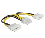 Адаптер VCom Adapter 2xMolex to 8pin PCI-E VGA - CE317-0.15m