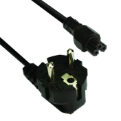 Кабел Vcom Power Cord for Notebook 3C - CE022-1.8m