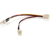 Кабел Vcom Fan Y-Splitter 3pin-2x3pin 30cm - CE315-0.3m