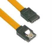 Кабел Vcom SATA Cable W/Lock - CH302-Y 0.45m