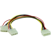 Кабел Vcom Molex Power Splitter Y Cable - CE302-0.15m