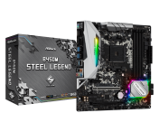 Дънна платка Asrock B450M STEEL LEGEND B450