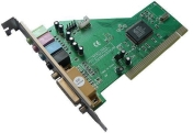 Звукова карта ESTILLO C-Media 8738 PCI, 4 канална