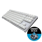Геймърскa механична клавиатура Ducky One 2 White TKL, Cherry MX Blue