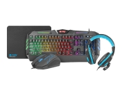 Fury Gaming COMBO THUNDERSTREAK 2.0 4-in-1 Keyboard, Mouse, Headset, Mousepad - NFU-1370