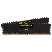 RAM памет Corsair 32GB (2 x 16GB) DDR4 3200MHz Vengeance LPX Black Heat spreader - CMK32GX4M2Z3200C16