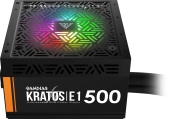 Захранване 500W Gamdias Addressable RGB - KRATOS E1-500