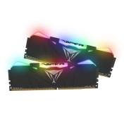 RAM памет Patriot 16GB (2x8GB) 3000MHz Viper RGB Black - PVR416G300C5K