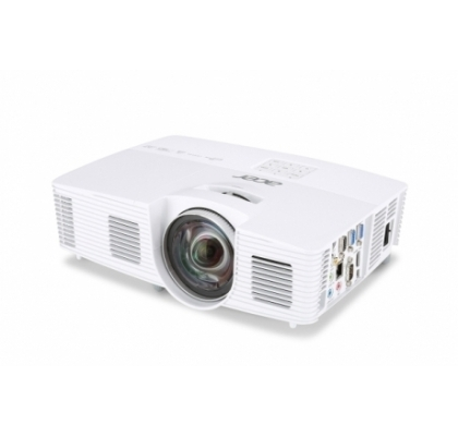 Acer Projector S1283Hne XGA, 3'100Lm, 13'000:1, DLP 3D, Short Throw, HDMI/MHL, LAN, CBII+, ExtremeECO, Audio, 10W, Interactive SmartPen 2 Kit (optional), MHL Wireless dongle (optional), 2.8 Kg