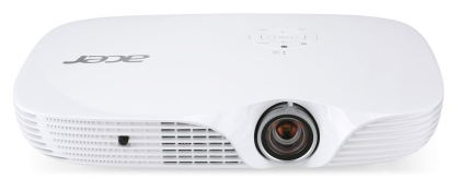 Acer Projector K650i Portable, DLP, LED, 1080p (1920x1080), 100000:1, 1400 ANSI Lumens, WiFi, BT, USB, HDMI, MHL, SD, 3D Ready, DTS Sound, Bag