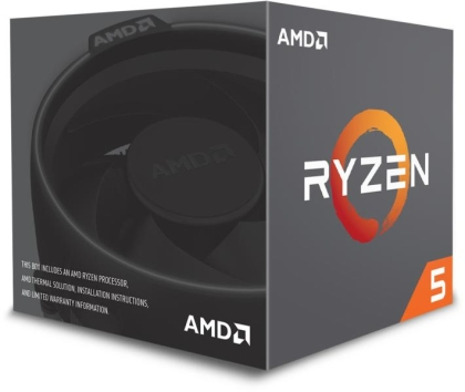 Процесор AMD Ryzen 5 1600, сокет AM4 with Wraith Spire 95W cooler