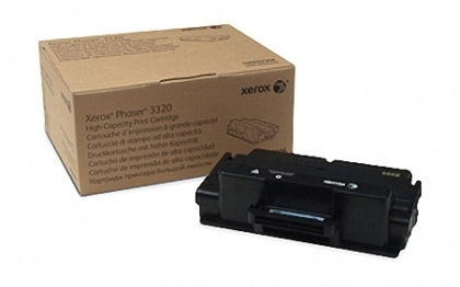 Xerox Phaser 3320 High Capacity Toner Cartrige, Black