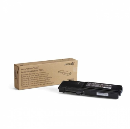 Xerox Phaser 6600/WorkCentre 6605 Black High Capacity Toner Cartridge, DMO