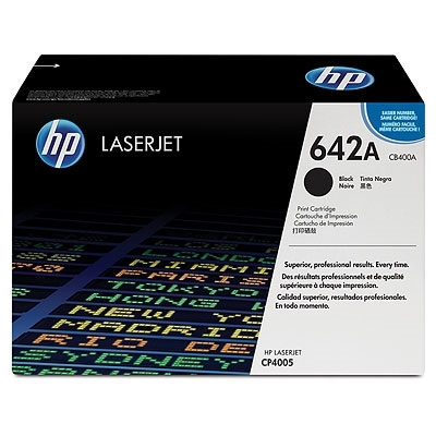 HP 642A Black LaserJet Toner Cartridge