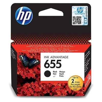 HP 655 Black Ink Cartridge