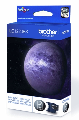Brother LC-1220BK Ink Cartridge for DCP-J525W/DCP-J725DW/DCP-J925DW/MFC-J430W