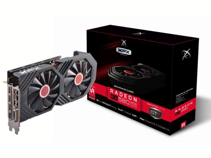 Видео карта XFX AMD Radeon RX580 Black Edition Core 8GB