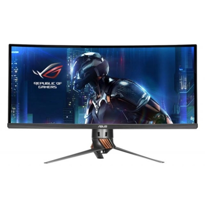 Монитор Asus PG348Q, 34 inch, Ultra-wide, QHD IPS, 100Hz G-Sync DisplayPort, HDMI, Черен