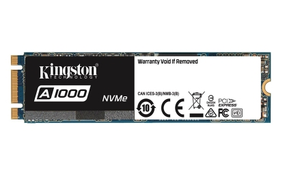 Solid State Drive (SSD) KINGSTON A1000 M.2-2280 PCIe Nvme 480GB