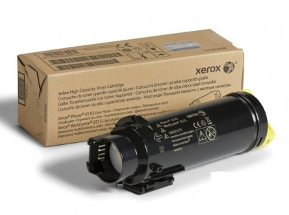 Xerox Yellow Standard Capacity Toner Cartridge for WorkCentre 6515/Phaser 6510 (1000 pages)