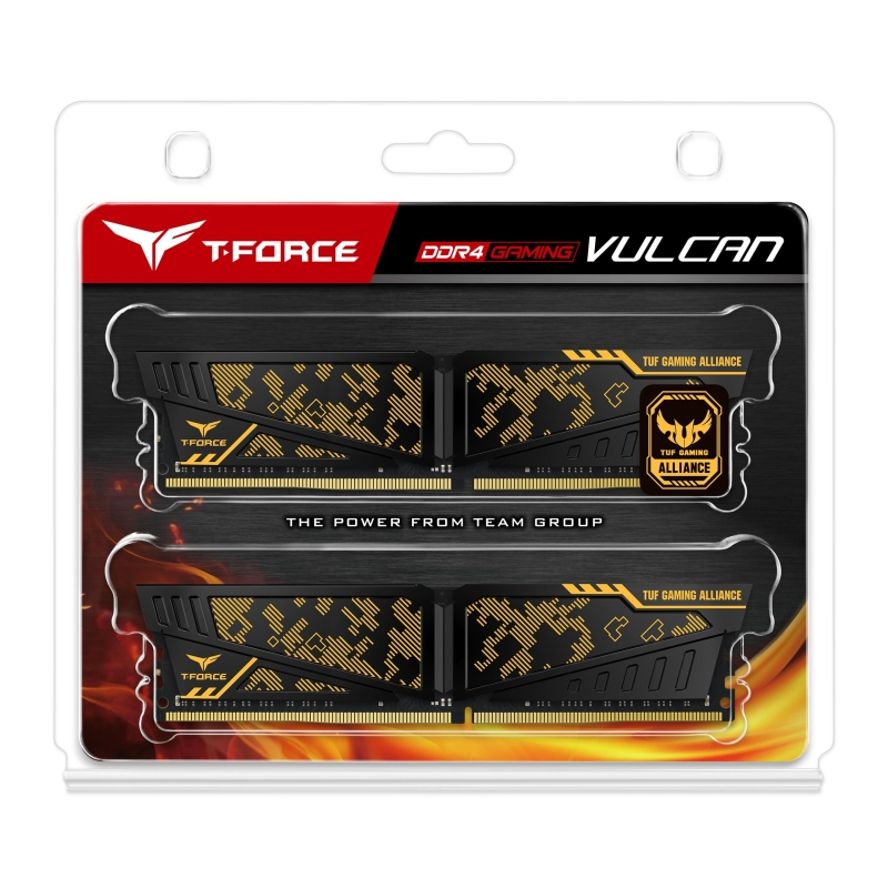 t force ddr4 gaming vulcan