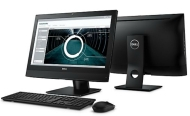 "Компютър Dell OptiPlex 3240AIO, Intel Core i5-6500 (3.2GHz, 6MB), 21.5"" FHD Touch with Camera, 8GB 1600MHz DDR3, 500GB HDD, DVD+/-RW, Integrated Graphics, 802.11ac, BT, Mouse&Keyboard, Windows 10 Pro, 3Y NBD"
