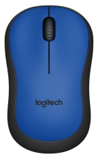 Logitech Wireless Mouse M220 Silent, blue