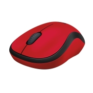 Logitech Wireless Mouse M220 Silent, red