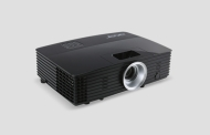 Acer Projector P1285B, DLP, XGA (1024x768), 20000:1, 3300 ANSI Lumens, 3D, HDMI/MHL, VGA, RCA, S-Video, PC Audio, USB (Type A), USB (Mini-B), Speaker, RJ45, Bag