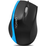 Input Devices - Mouse Box CANYON CNR-MSO01N (Cable, Optical 800dpi,3 btn,USB), Black/Blue