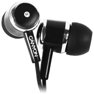 Stereo earphones, Black