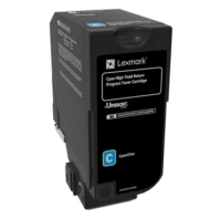 Lexmark Cyan High Yield Return Programme Toner Cartridge