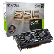 Видео карта EVGA Nvidia GeForce GTX 1050 Ti SSC GAMING 4GB GDDR5