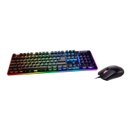Cougar DEATHFIRE EX COMBO Gaming Keyboard with Gaming Mouse, Hybrid Mechanical (20 million keystrokes),19-Key Rollover,8 backlight effects/8 colors backlight, ADNS-5050 Optical gaming mouse sensor, Resolution-1000/500/1500/2000 DPI
