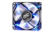 DeepCool Fan 80mm Blue LED - WIND BLADE 80 - 1800rpm