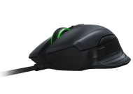 Razer Basilisk, 5G optical sensor with true 16,000 DPI,Up to 450 inches per second (IPS) / 50 G acceleration,Razer Mechanical Mouse Switches,8 programmable Hyperesponse buttons, Enhanced rubber side grips,Customizable scroll wheel resistance