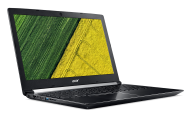 "NB Acer Aspire 7 A715-71G-55KS /15.6"" IPS FHD Matte/Intel® Quad Core™ i5-7300HQ/2GB GDDR5 VRAM NVIDIA® GeForce® GTX 1050/8GB(1x8GB)/1000GB+(m.2 slot SSD free)/Keyboard backlit/4L/LINUX, Hair-Brush Anodizing"