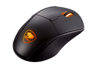 Cougar MINOS X5 Gaming Mouse, 100-12000 DPI, PixArt PMW3360 Optical gaming sensor, FPS/MMORPG/MOBA/RTS, 2000H Polling rate, On-board memory-512KB, 50M OMRON gaming switch,Cougar UIX™ System, Golden-plated USB plug, 1.8m, 16.8 M colors